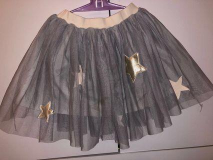 🚚 蓬蓬裙 110-125cm 活潑公主 星星系列
