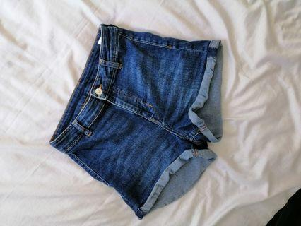 H&M denimn shorts