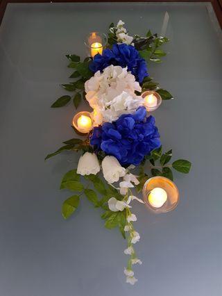 Blue Hydrangeas for Rent