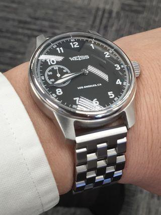 Weiss Field Watch Handbuilt USA
