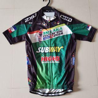 Cycling Jersey (Size S) Melaka Century Ride 2014