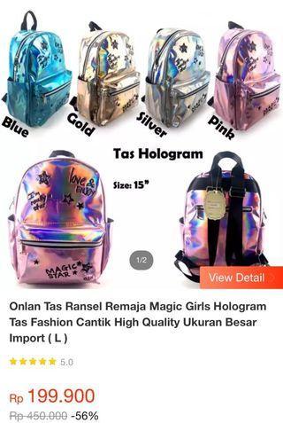 Tas hologram anak