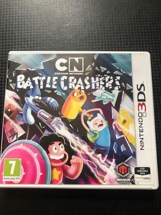 3DS battle carshers 歐版