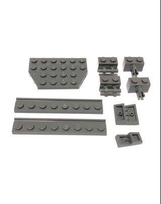 Lego Bricks M318 Dark Grey New
