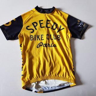 SixSixOne Cycling Speedy Bike Club Paris Jersey Small