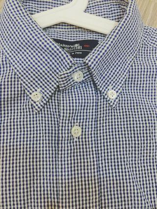 🚚 鎌倉Made in Japan 日本製襯衫 中性款 台北專櫃正品購入保證品質