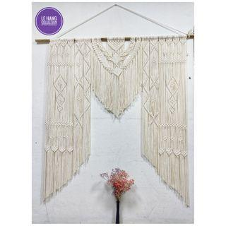 🎀 Extra Large Macrame Wall Hanging/Macrame Backdrop🎀