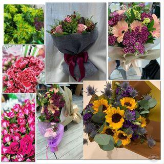 🚚 💐🌸🌹🌻Flower Bouquets pre order for Mother's Day, Birthday, Graduation, Wedding, Solomzation, anniversary, farewell, welcome gifts