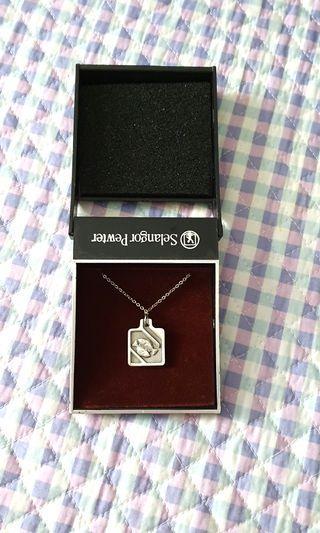 Selangor Pewter Pisces Necklace