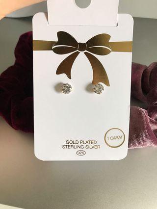 Lovisa gold plated sterling silver earrings