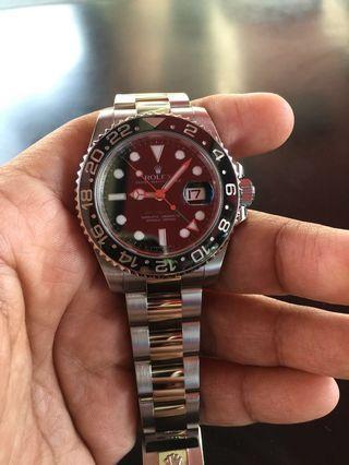 🚚 Rolex GMT Master 2 116710LN Full Set