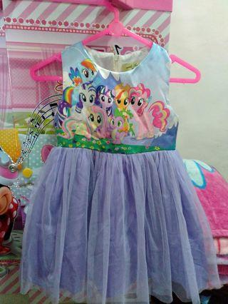 Dress Anak little pony