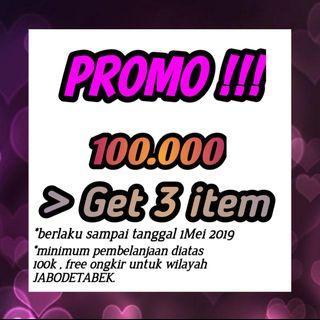 100k get 3 item