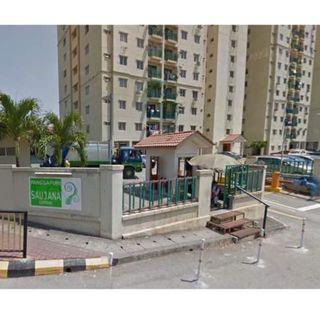 Pangsapuri Saujana Gombak Apartment for rent (ready to move in) - nego