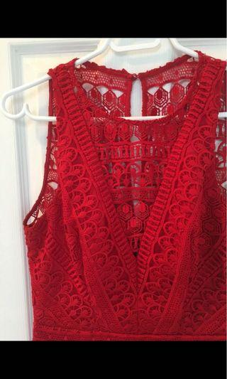 Ever New Lace Dress Size 6 (Size M)