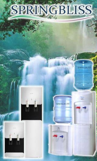 Water dispenser Direct pipe and bottles type