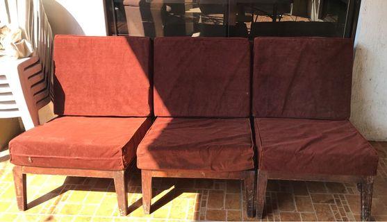 3 Seat 1970s Style Sofa
