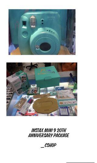 Instax Mini 9 20th Anniversary Package