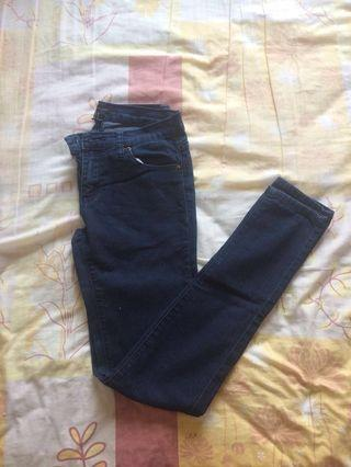 Forever 21 Skinny Jeans (Dark Blue) #Rayathon50