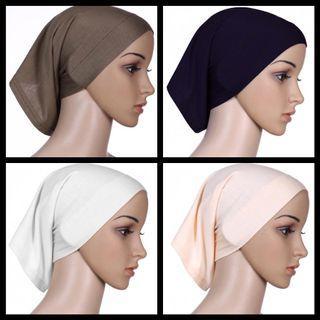 Restocked 3+2 Basic Inner Cap | Muslimah Hijab Inner