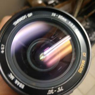 Tamron 28 80mm barr for canon fd ae1 a1 鏡頭 美品 含前後蓋 轉接環