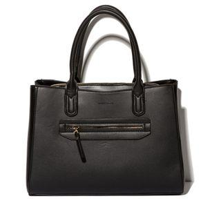 Instock! MANGO TOUCH Triple Compartment Stylish Bag (Black) ASC3239 + FREE Post!