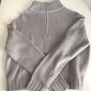 Turtle-Neck Knitwear Sweater