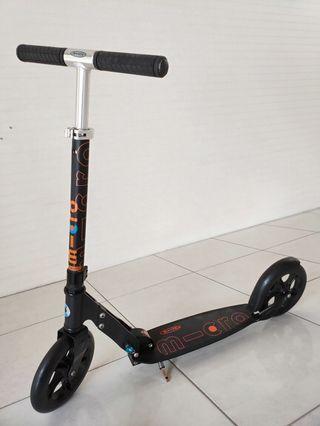 Micro Black Kick Scooter