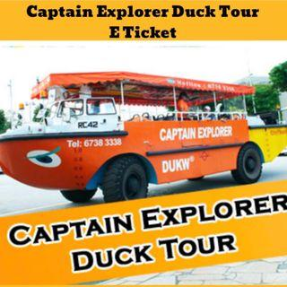 Captain Explorer DUKW City Tour