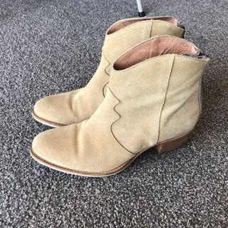 Tigerlily Suede Leather Boots