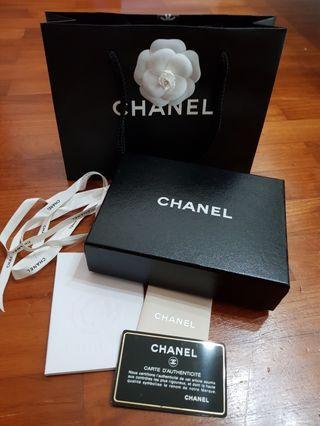 Chanel 3/4 Wallet