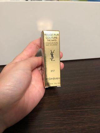 YSL lipstick 217