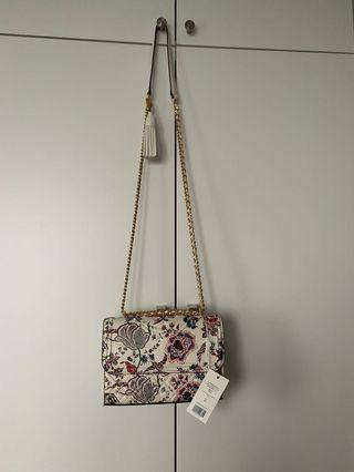 Tory Burch pattern shoulder bag 花花手袋