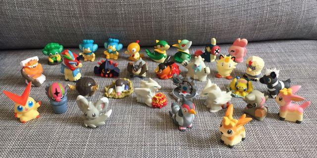 Japan Bandai Toy Pokemon Mini Figures 日本玩具 寵物小精靈 公仔