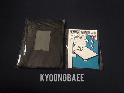 [WTS/READY STOCK] EXO UNIVERSE NOTEBOOK AND BAEKHYUN COASTER