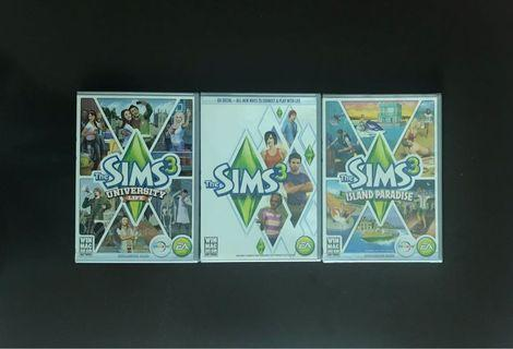 SIMS 3 + 2 Expansion Packs