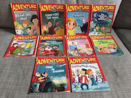 Bayard Adventure Box Children's Magazine Story Books