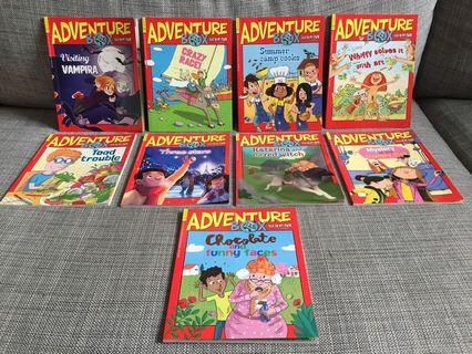 Bayard Adventure Box Children's magazine Stoty Books