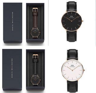 DW各種款式手錶✨