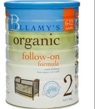 Bellamy Organic Stage 2