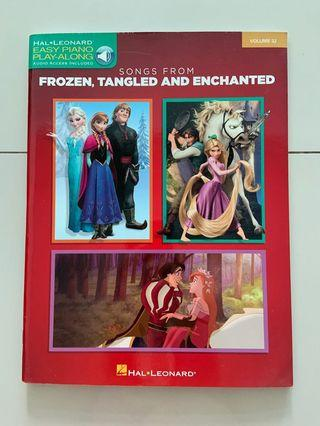 Songs from Frozen, Tangled and Enchanted music score