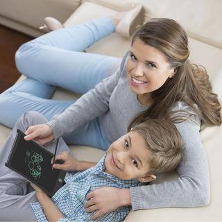 HK$48/1塊 ~ 新版本有開關制環保8.5吋LCD電子畫板記事板, 手寫板, 大人細路都啱用 Portable LCD Children Digital Writing Tablet