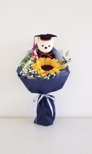 🌟Premium Sunflower Graduation Bouquet
