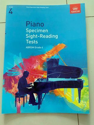 🚚 ABRSM Grade 4 Piano Specimen Sight-Reading
