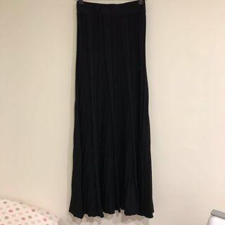 涼感針織長裙