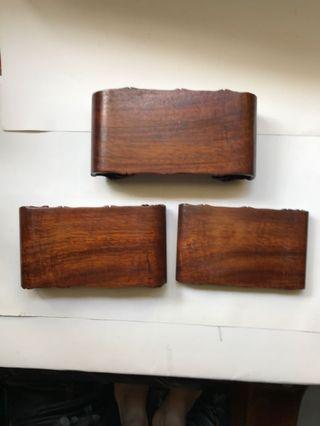 🚚 木頭底座-書卷型