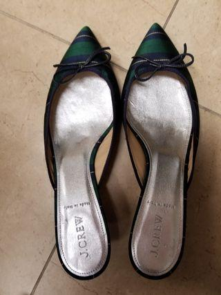 J crew made in italy shoes slippers heeels 高跟鞋