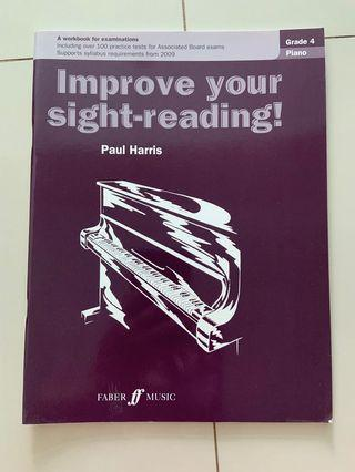 Grade 4 Piano Improved Your Sight-Reading
