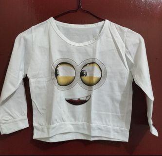 Baju Kaos Lengan Panjang Anak