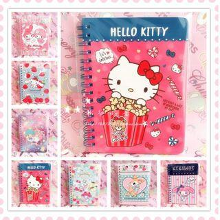 🚚 [PO] Hello Kitty and friends A6 notebook